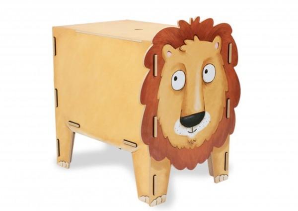 Löwe - Sitztruhe