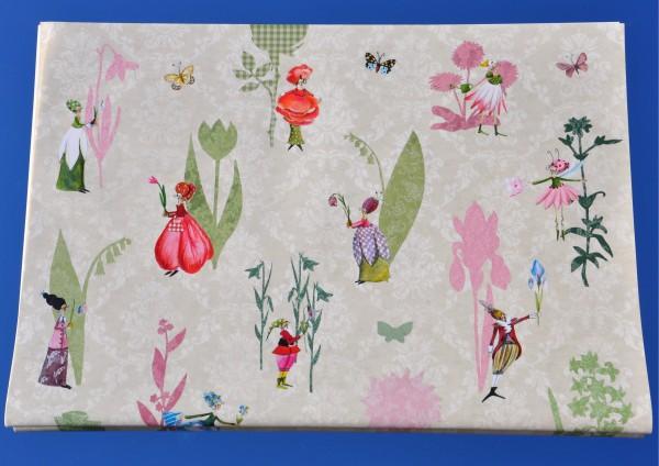 Blumenbote - Geschenkpapier