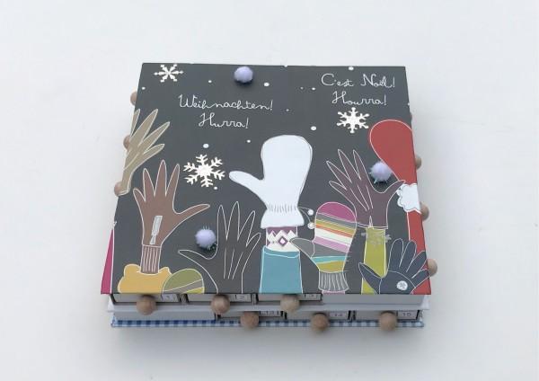 Weihnachten! Hurra! - Adventskalender gefüllt mit Tee