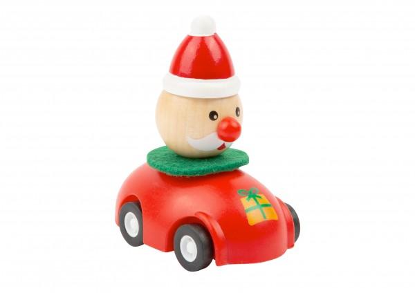 Weihnachtsmann - Weihnachtsflitzer Rückziehauto