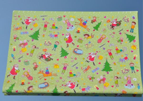 Weihnachtsfreude - Geschenkpapier