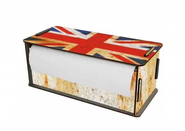 England Flagge - Küchenrollenhalter