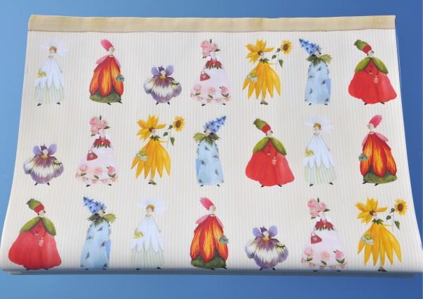 Blütenfrauen - Geschenkpapier