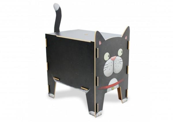 Katze - Sitztruhe