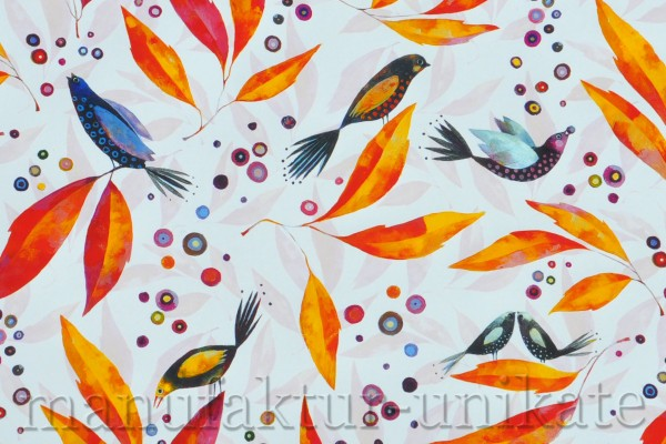 Vogelgezwitscher - Geschenkpapier