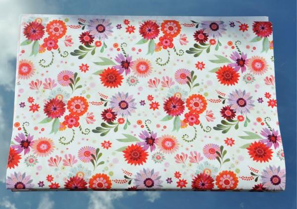 Blütentraum - Geschenkpapier