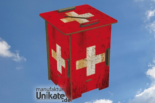 Schweiz Flagge - Twinbox