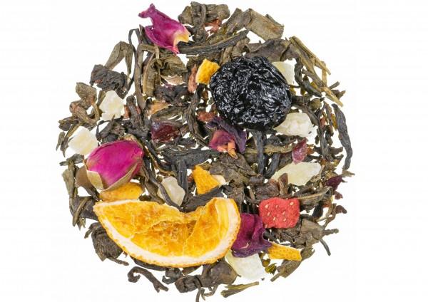 Königin von Saba - Weißer Tee / Erdbeer Orange Geschmack
