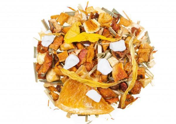 Erfrischende Früchte mild - Früchtetee / Buttermilch Zitrone Geschmack