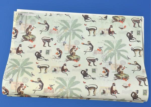 Affen - Geschenkpapier