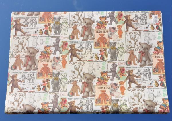 Teddy Bär - Geschenkpapier